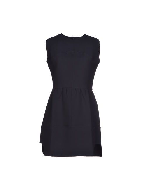 Le Mont St Michel | Женское Синее Короткое Платье