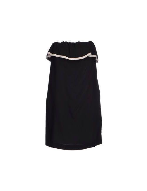Jucca | Женское Чёрное Короткое Платье
