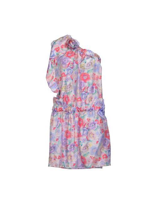 Cristinaeffe Collection   Женское Фиолетовое Платье До Колена