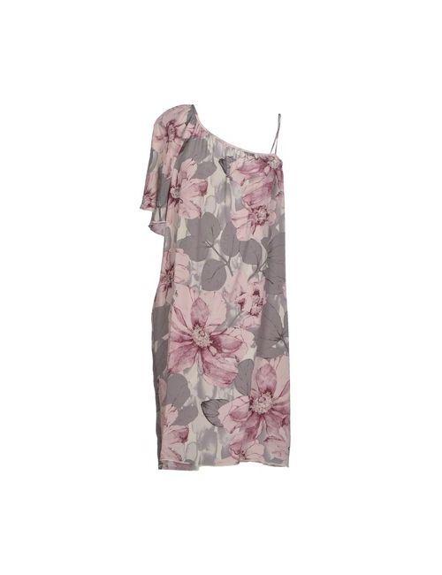 Brian Dales | Женское Розовое Короткое Платье