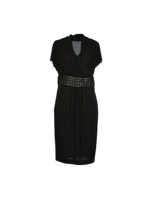 Les Copains | Женское Черный Платье До Колена
