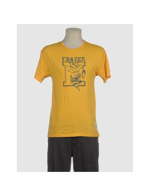 Retro Brand | Мужская Жёлтая Футболка С Короткими Рукавами