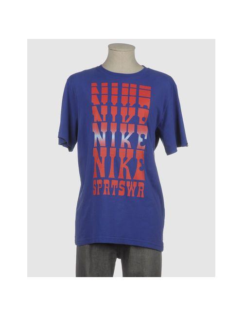 Nike | Мужская Фиолетовая Футболка С Короткими Рукавами