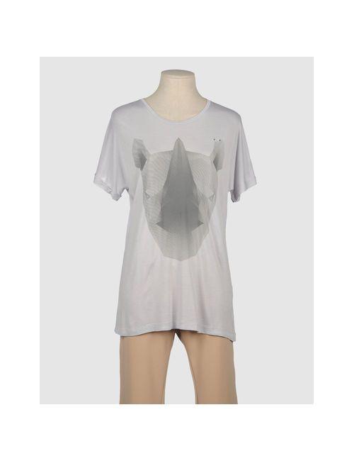 One T Shirt | Женская Серая Футболка С Короткими Рукавами