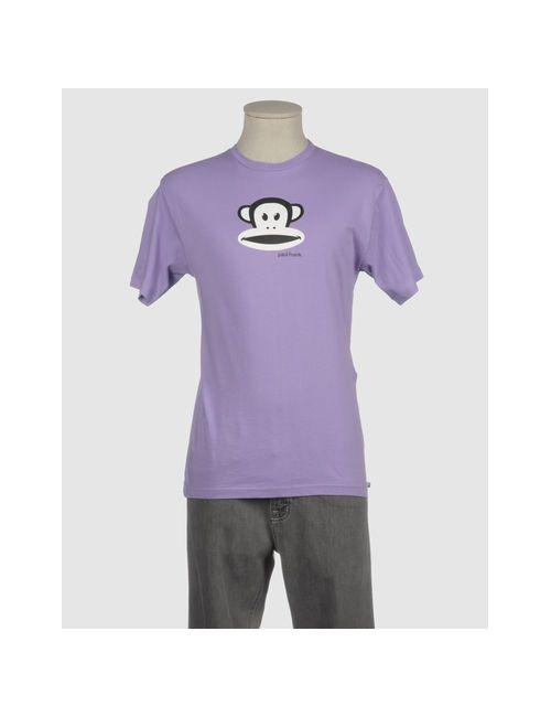 Paul Frank | Мужская Фиолетовая Футболка С Короткими Рукавами