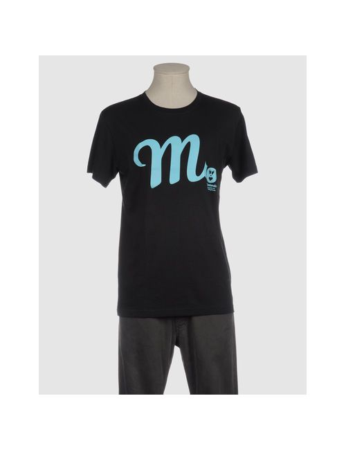 Misericordia | Мужская Синяя Футболка С Короткими Рукавами