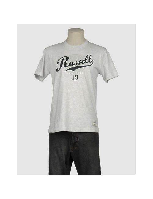 Russell Athletic | Мужская Серая Футболка С Короткими Рукавами