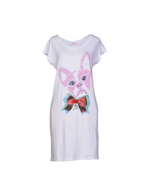 Blugirl Folies | Женское Белое Короткое Платье