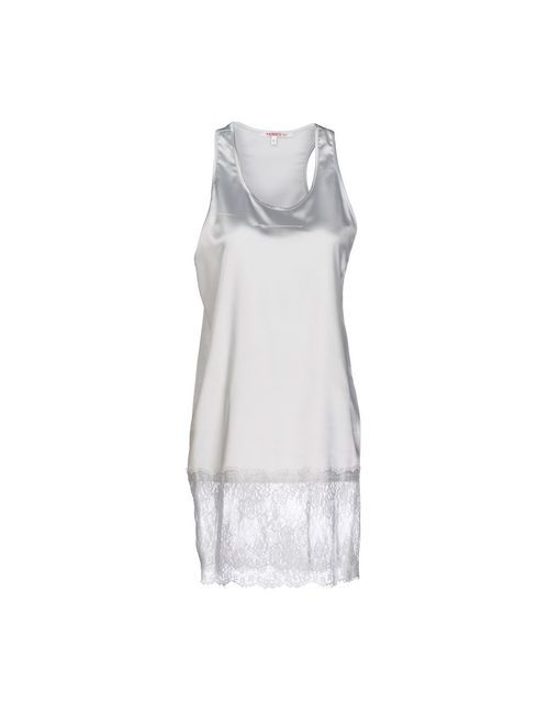 Kontatto | Женское Серое Короткое Платье