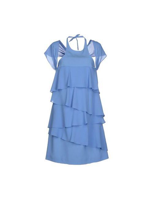 Pinko Black | Женское Синее Короткое Платье