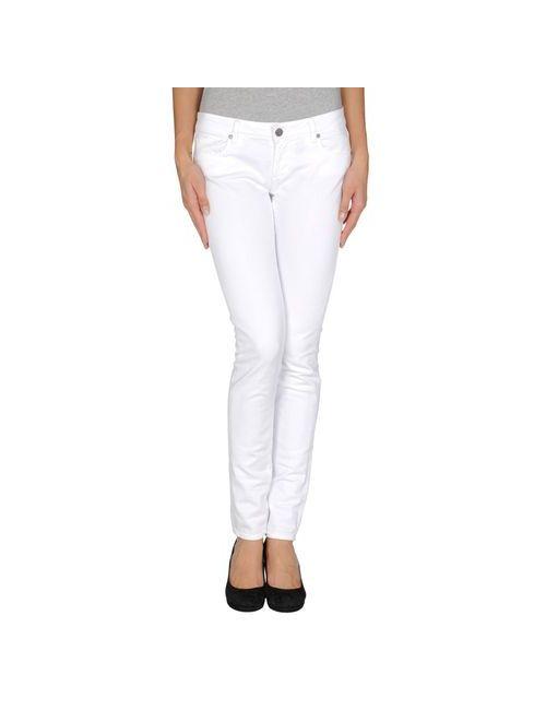 Paige Premium Denim   Женские Белые Джинсовые Брюки