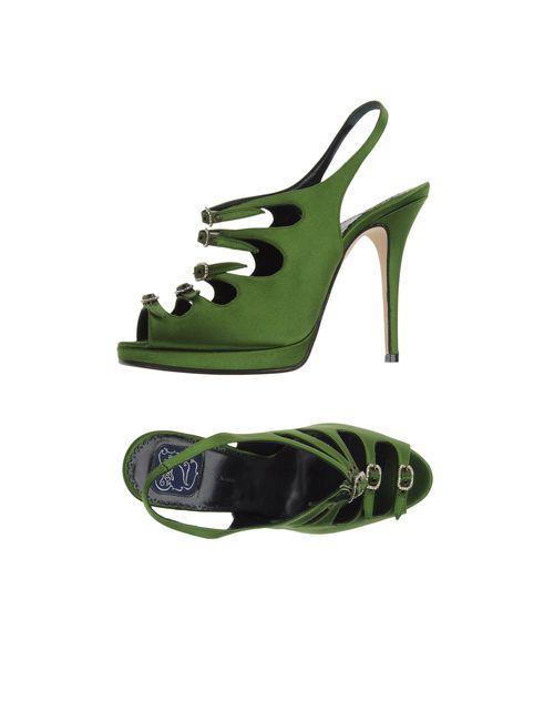 Zoraide | Женские Зелёные Босоножки На Платформе