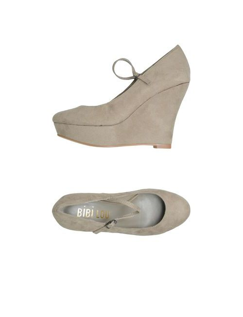 Bibi Lou | Женская Серая Обувь На Танкетке