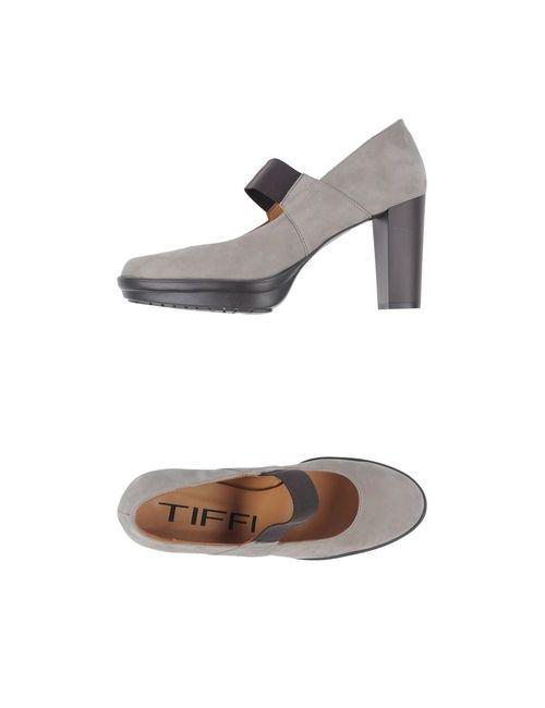 Tiffi | Мужские Серые Туфли На Платформе