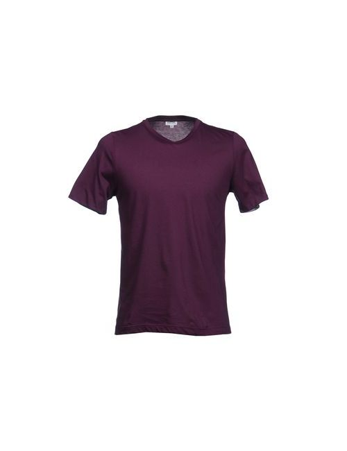Pantone | Мужская Фиолетовая Футболка С Короткими Рукавами