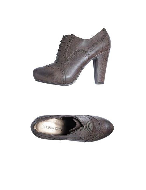 Cafènoir | Женская Коричневая Обувь На Шнурках