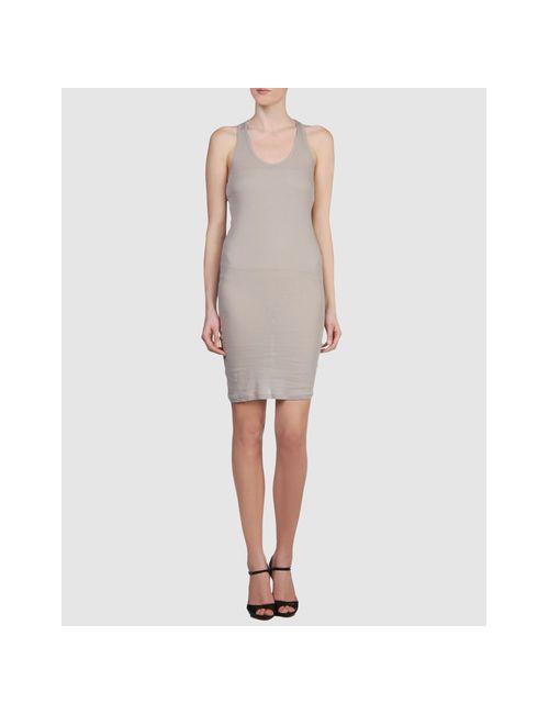 .Tessa | Женское Серое Короткое Платье