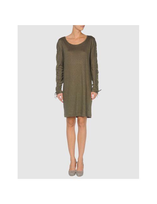 Trussardi   Женское Зелёное Короткое Платье