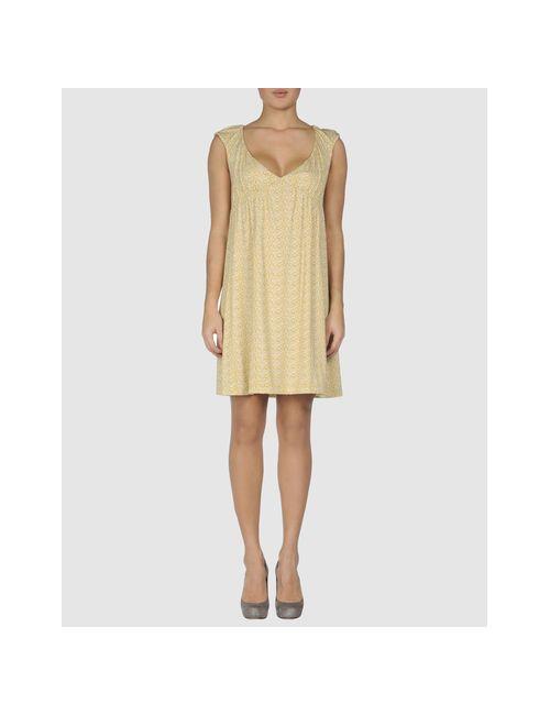Alice San Diego | Женское Жёлтое Короткое Платье