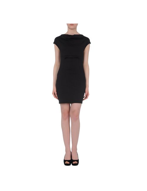 Fe | Женское Чёрное Короткое Платье