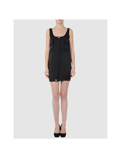 H. Eich | Женское Чёрное Короткое Платье