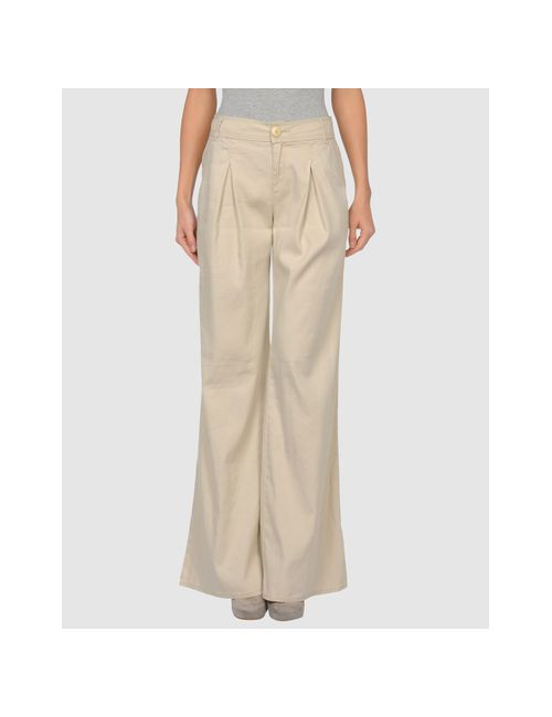 Calvin Klein Jeans | Женские Бежевые Повседневные Брюки