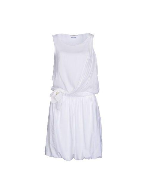 Fairly | Женское Белое Короткое Платье