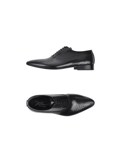 Francesconi | Мужская Чёрная Обувь На Шнурках