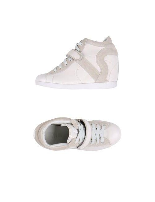Ruco Line | Женская Белая Обувь На Танкетке
