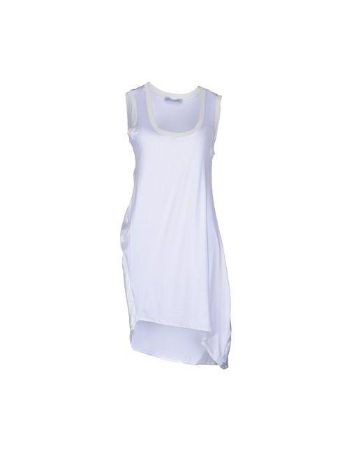 Lo Not Equal | Женское Белое Короткое Платье