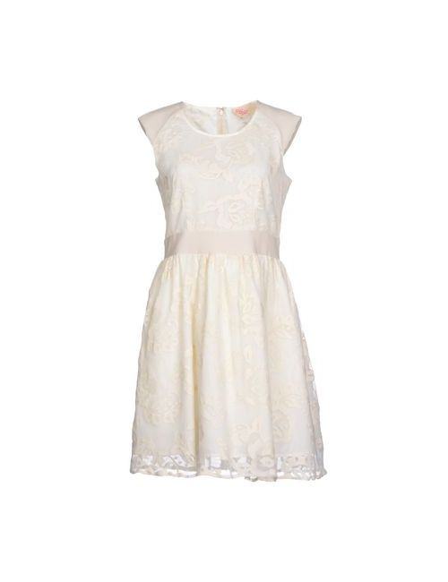 Deby Debo | Женское Бежевое Короткое Платье