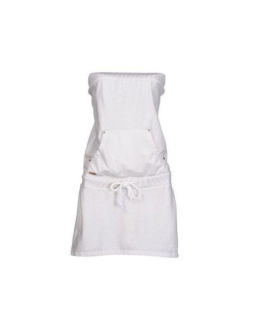 MET | Женское Белое Короткое Платье