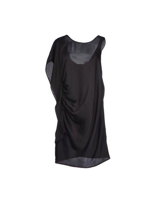 SOALLURE | Женское Чёрное Короткое Платье