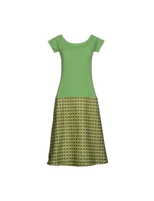 Laviniaturra | Женское Зелёное Платье До Колена