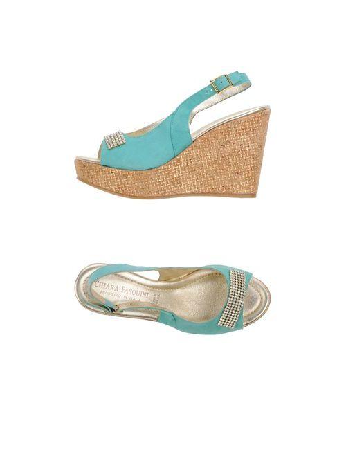 Chiara Pasquini   Женская Обувь На Танкетке