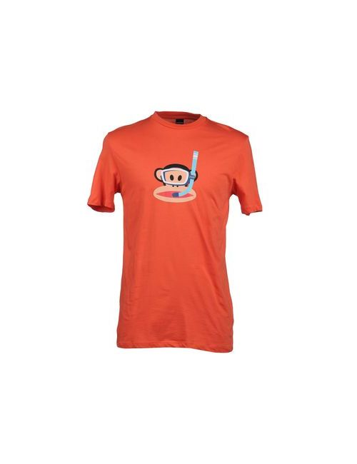 Paul Frank | Мужская Оранжевая Футболка С Короткими Рукавами