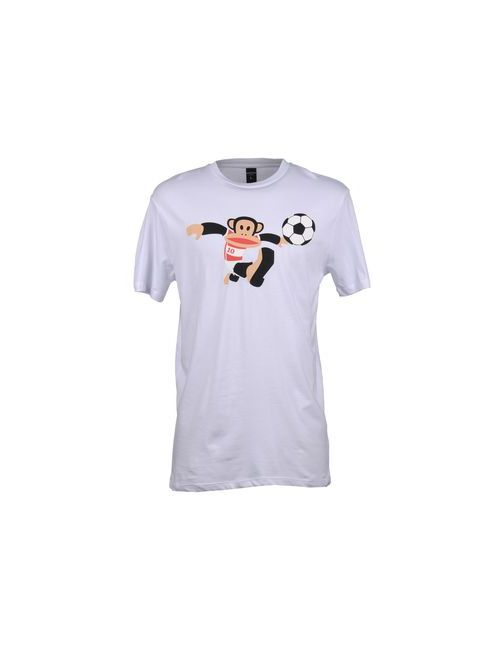Paul Frank | Мужская Белая Футболка С Короткими Рукавами