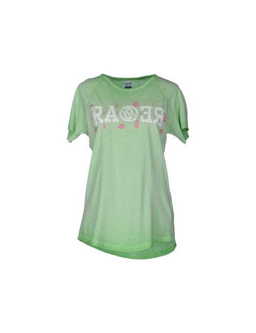 Ra-Re | Женская Зелёная Футболка С Короткими Рукавами