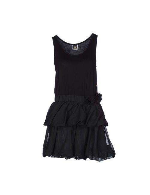 Maison Espin | Женское Черный Короткое Платье