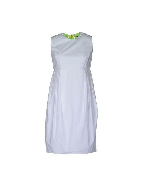 Maurizio Pecoraro | Женское Белое Короткое Платье