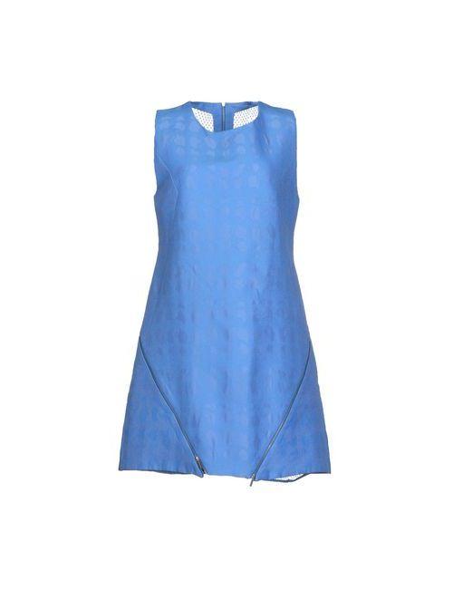 Richard Nicoll | Женское Синее Короткое Платье