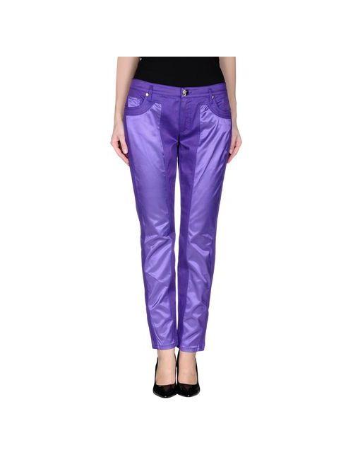 Versace Collection | Женские Фиолетовые Джинсовые Брюки