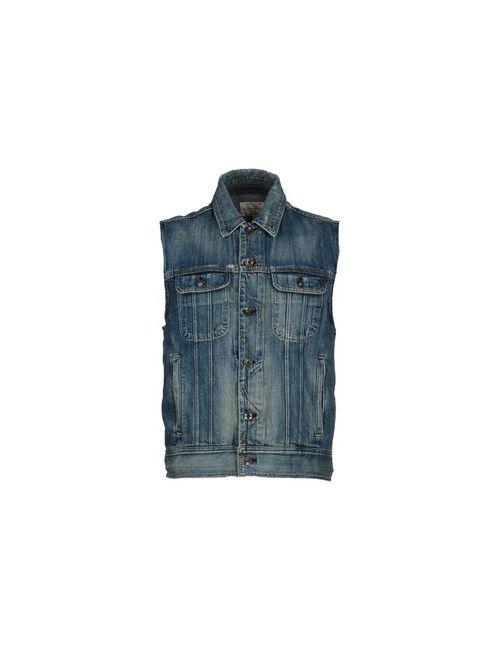 Rag & Bone   Мужская Синяя Джинсовая Верхняя Одежда