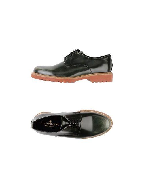 Borgo Mediceo | Мужская Зелёная Обувь На Шнурках