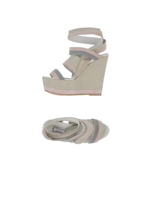 Serafini Etoile   Женская Розовая Обувь На Танкетке