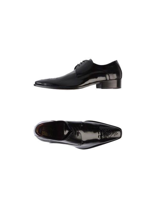 Carlo Pignatelli Classico | Мужская Чёрная Обувь На Шнурках