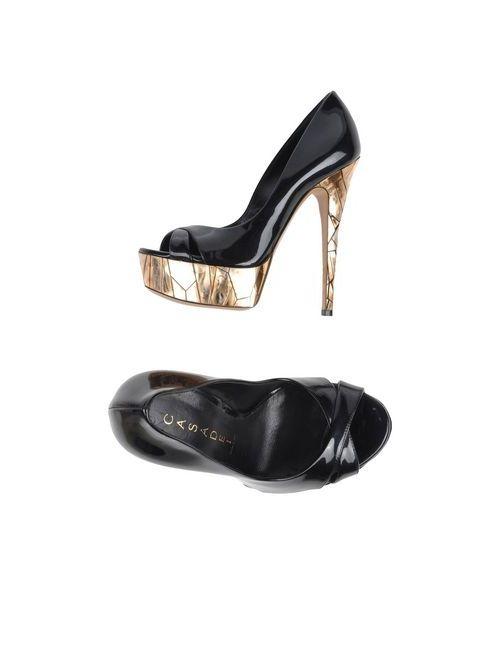 Casadei | Женские Чёрные Туфли