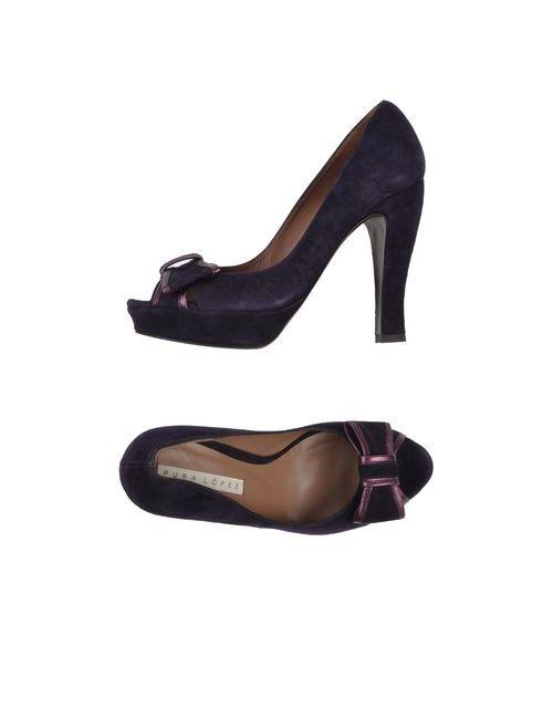 Pura López | Женские Фиолетовые Туфли
