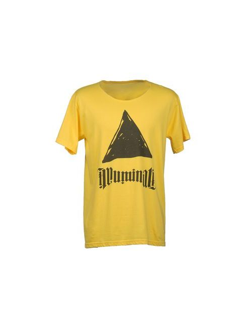 Art 259 Design | Мужская Жёлтая Футболка С Короткими Рукавами