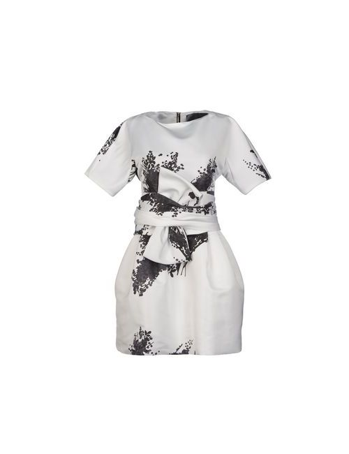 Albino | Женское Белое Короткое Платье